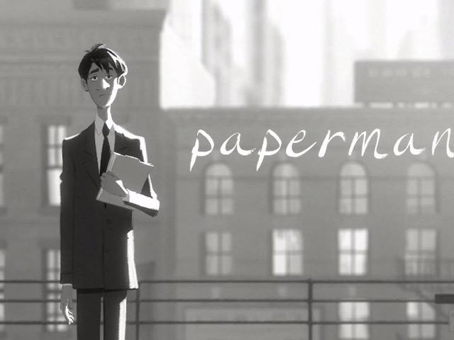 Paperman : un très beau court-métrage par Disney
