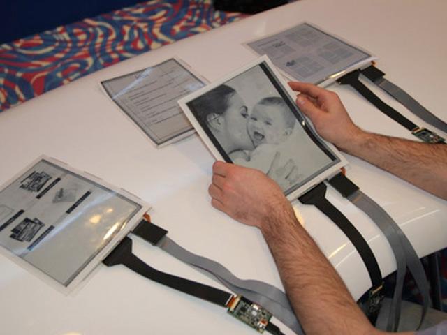 PaperTab : la tablette tactile flexible qui veut remplacer le papier