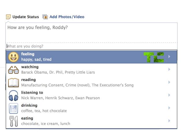 Facebook va nous permettre de partager notre activité
