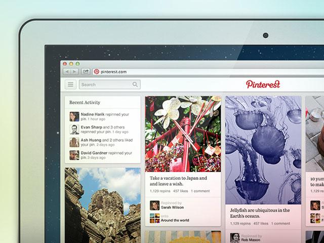 Pinterest : une nouvelle interface en cours de test
