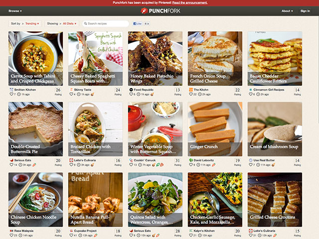 Pinterest mise sur la gastronomie communautaire