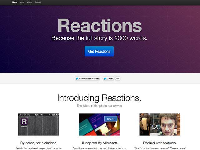 Reactions, la première application iPhone de GeoHot