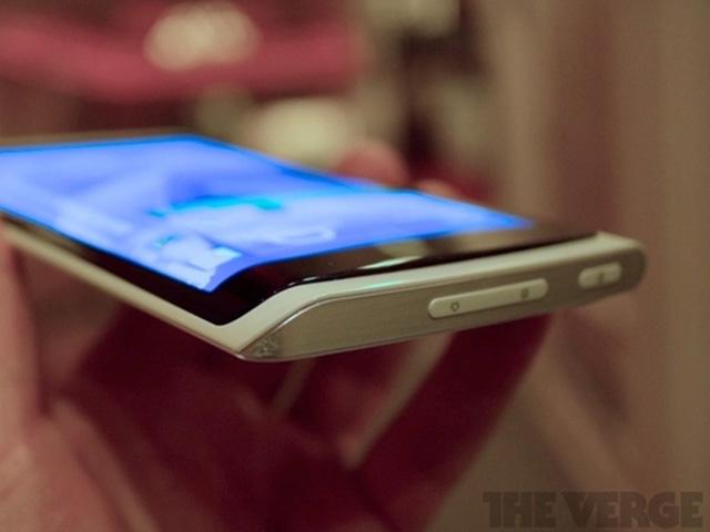 Samsung : un prototype de smartphone à écran flexible
