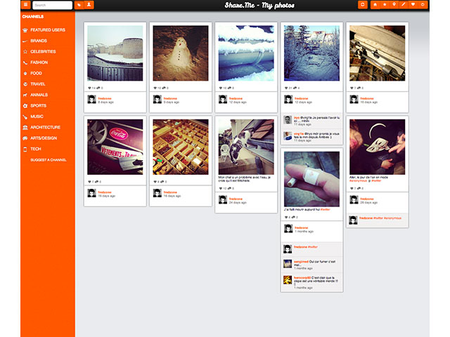 ShareMe : les photos personnelles