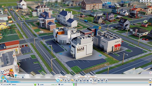 Sim City 2013 : vue rapprochée