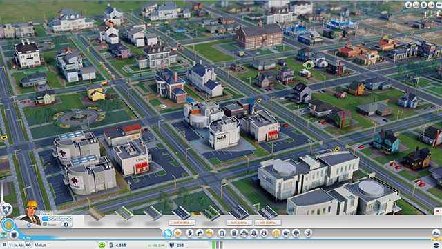 Sim City 2013 : une autre vue de la ville