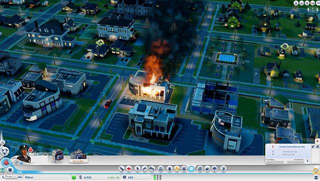 Sim City 2013 : au feu !