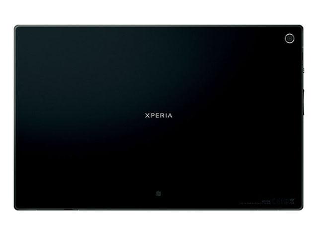 Sony Xperia Tablet Z : vue de derrière