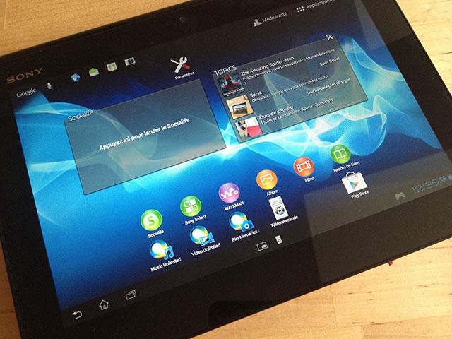 Sony Xperia Tablet Z : les spécifications techniques dévoilées ?