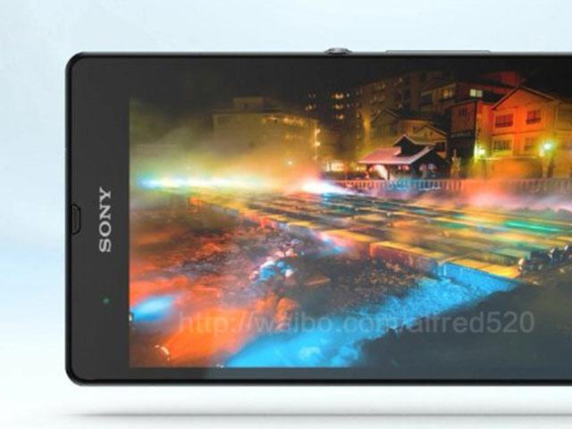 Sony Xperia Z : un bel écran