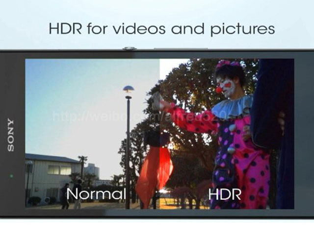 Sony Xperia Z : photos en HDR