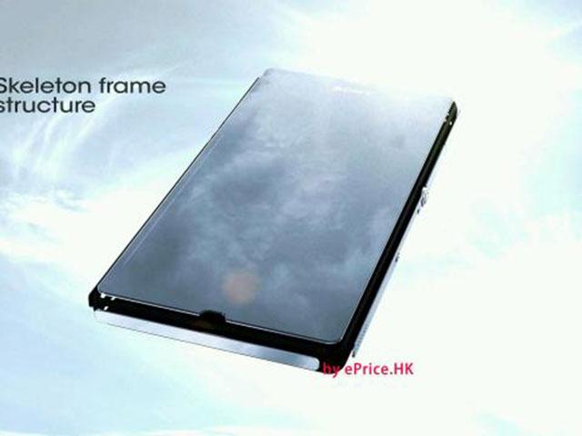 Sony Xperia Z : du métal à tous les étages