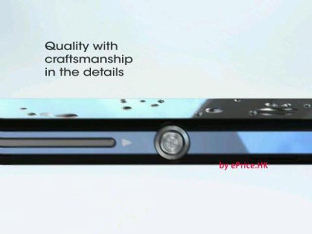 Sony Xperia Z : des finitions soignées