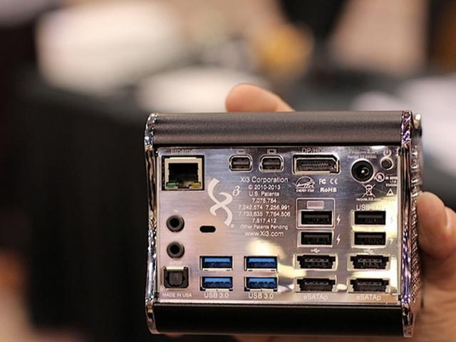 Steambox / Piston : encore une vue de la connectique