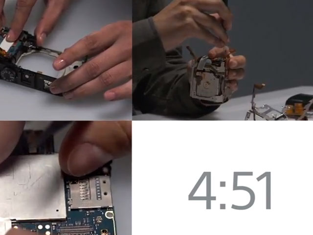 Sony : 5 minutes pour assembler un Xperia Z ou un RX1