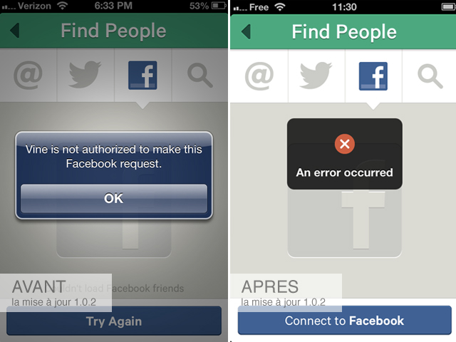 Facebook bloquerait Vine ?!
