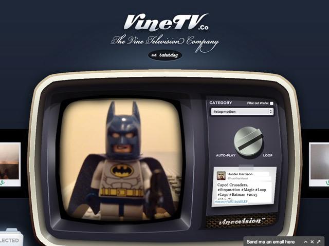 VineTV, encore un service pour regarder les vidéos partagées sur Vine