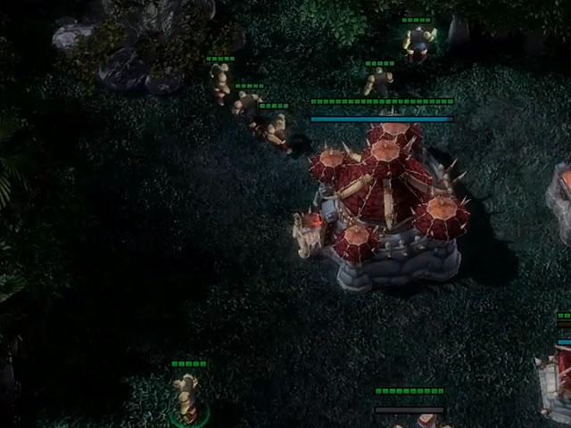 Bientôt un mod Warcraft pour Starcraft 2