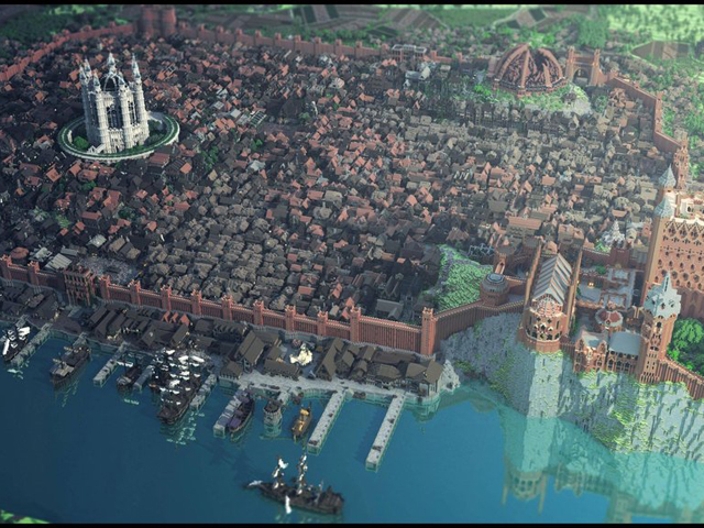 Westeroscraft : Game of Thrones dans Minecraft