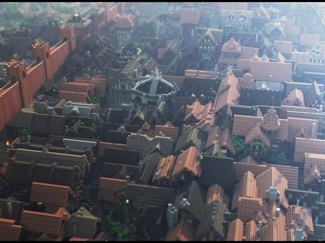 Westeroscraft : vu du ciel (ter)