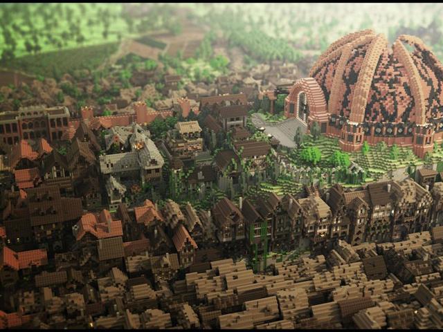 Westeroscraft : tiens, un peu de «tilt shifting»