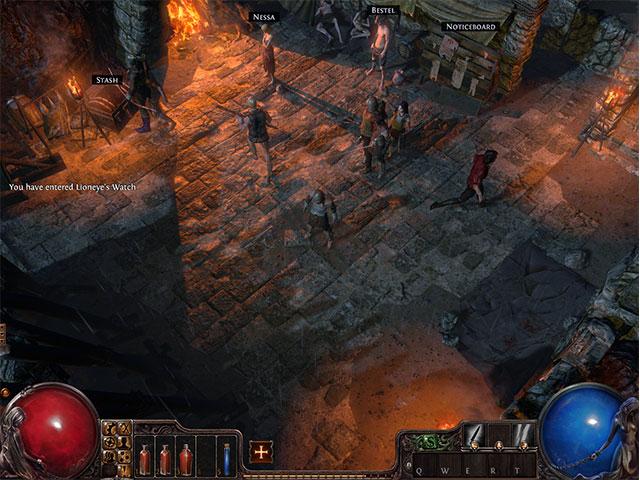 Path of Exile : le premier village