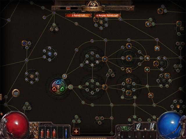 Path of Exile : l'arbre des talents
