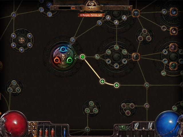 Path of Exile : l'arbre des talents (encore)