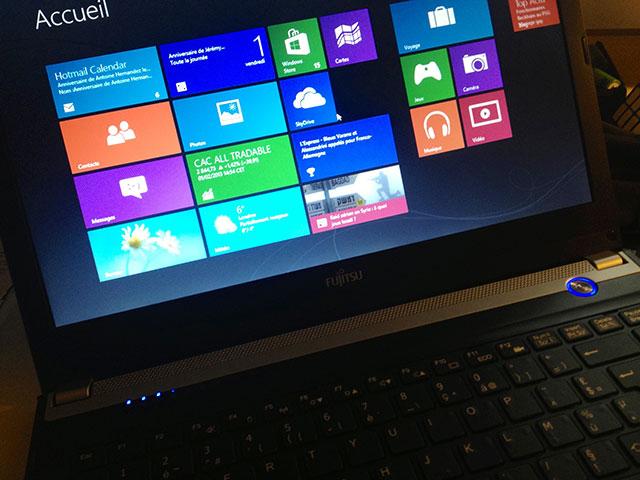 Windows 8 : activer les gestes multitouch sur son touchpad