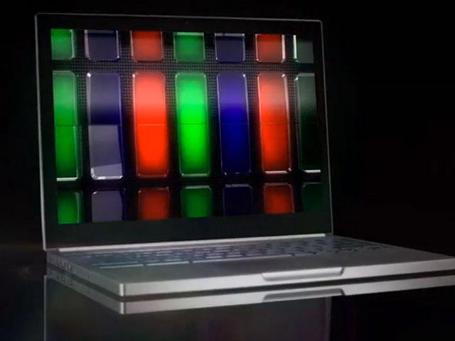 Chromebook Pixel : vue de trois quart