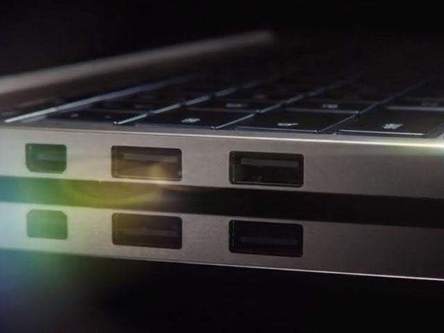 Chromebook Pixel : une partie de la connectique