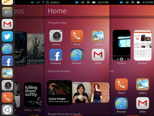 Ubuntu touch bient t disponible sur le htc desire sur for Photo ecran ubuntu