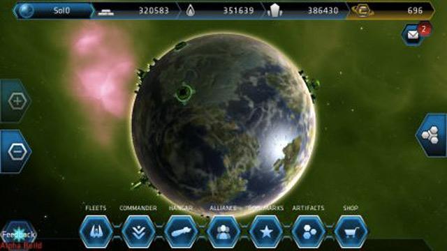 Galaxy on Fire Alliances : une seconde capture