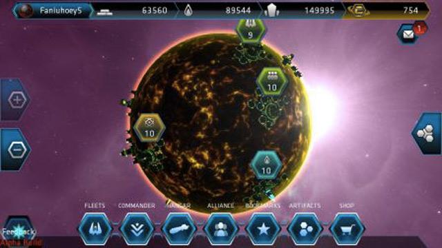 Galaxy on Fire Alliances : une troisième capture