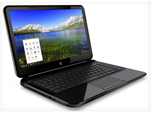 HP officialise son premier Chromebook