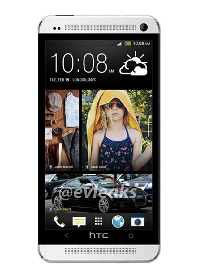 HTC M7 : le second rendu publié par @evleaks