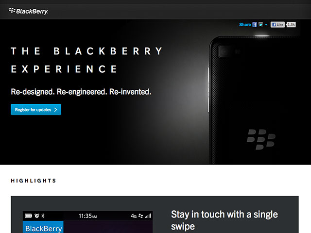 Instagram devrait prochainement arriver sur BlackBerry 10