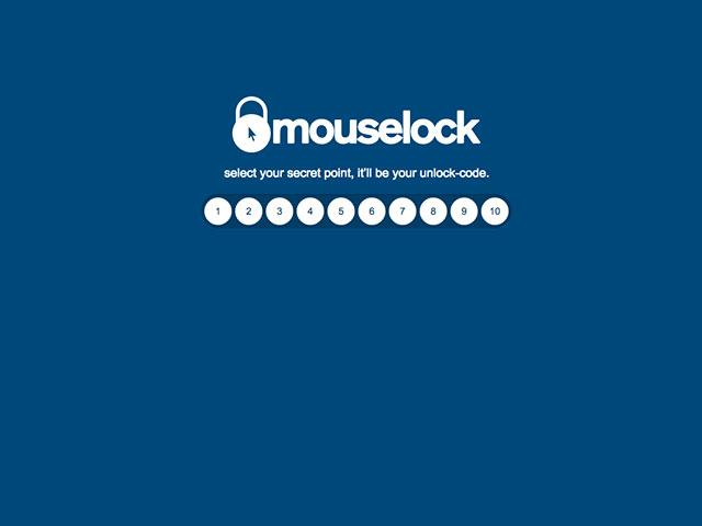 Mouselock, pour protéger son ordinateur pendant la pause café
