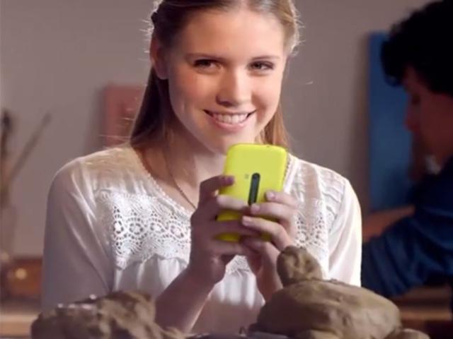 Nokia : un mystérieux Lumia fait son show dans une pub allemande
