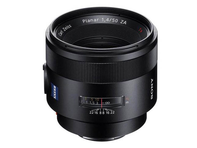Zeiss Planar T* 50mm f/1.4 ZA SSM