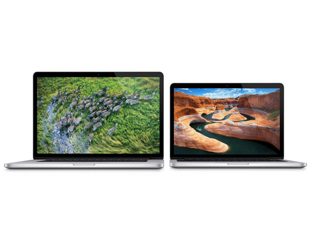 MacBook Pro Retina : de nouveaux tarifs et de nouveaux processeurs