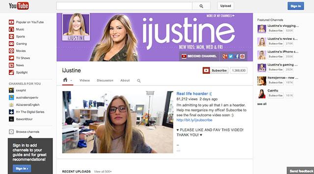 Un aperçu des nouvelles chaines YouTube
