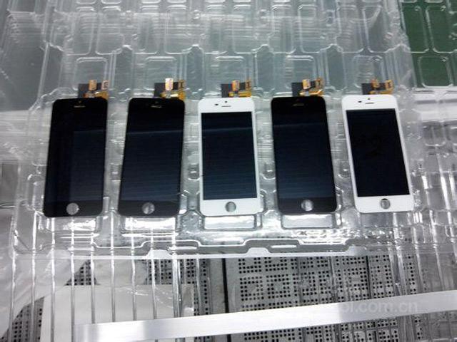 iPhone 5S blanc et noir