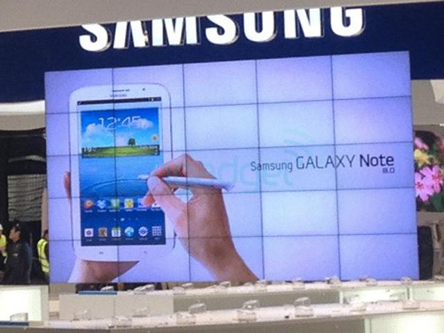 Une nouvelle photo de la Samsung Galaxy Note 8.0
