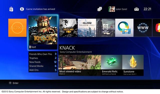 PlayStation 4 : aperçu de la fiche d'un ami