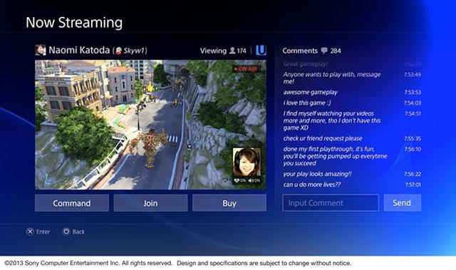 PlayStation 4 : retransmission d'une vidéo en streaming