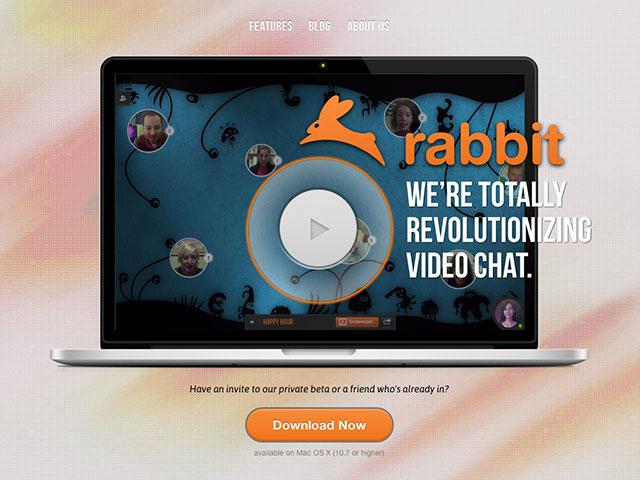 Rabbit, la révolution du vidéo-chat