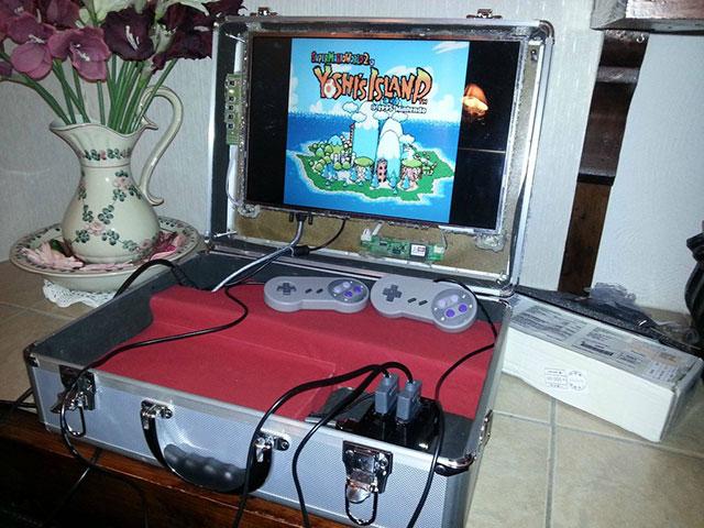 RaspGC : toutes les consoles du monde dans une valise