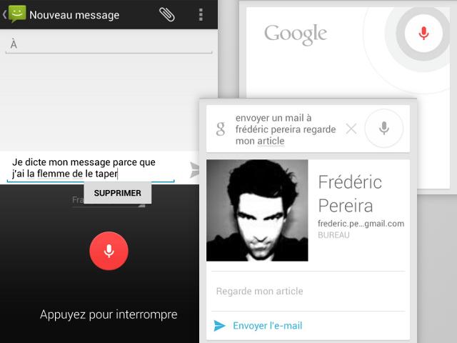 La reconnaissance vocale de Google