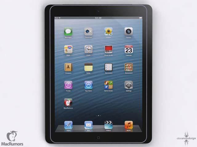 L'iPad 5 sur l'iPad 4
